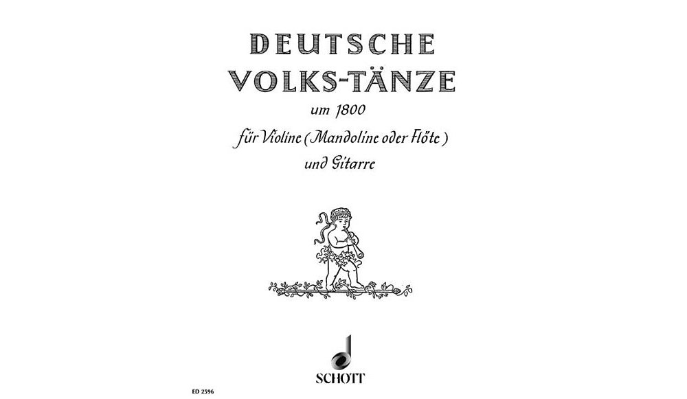 Schott German Folk Dances Schott Series Composed by Various PDF