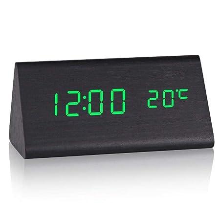 YYNHYM - Reloj de Mesa Digital de Mesa para Estudiantes ...