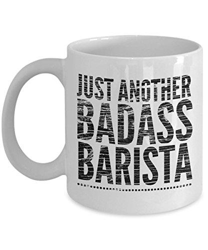 Just Another Badass Barista Mug - Cool Coffee Cup
