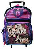 "One Direction 1D Large 16"" School / Travel Rolling Backpack"