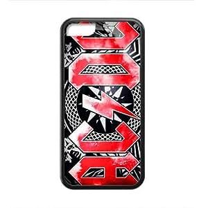 MMZ DIY PHONE CASERockband Modern Fashion Guitar hero and rock legend Phone Case for iphone 6 plus 5.5 inch(TPU)