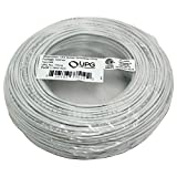 UPG 77519 18-Gauge, 2-Conductor Striped Control White Cable, 500ft Speedbag electronic consumer