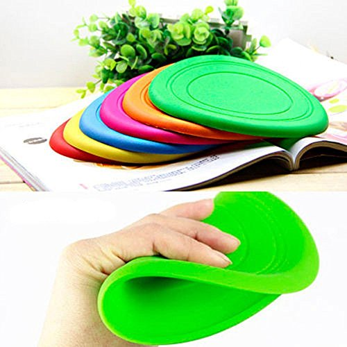 Nikgic Pour Animaux De Compagnie Chien Frisbee Souple Silicone Extrrieure Flying Disc Formation Jouet