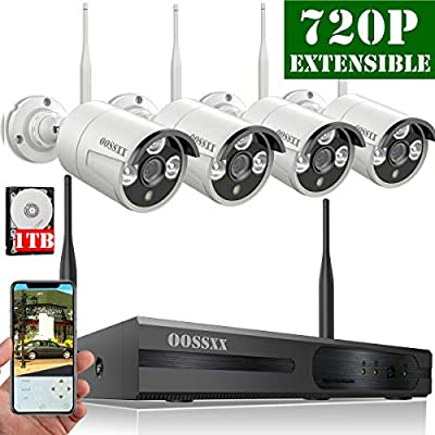 Wireless Security Camera System from OOSSXX