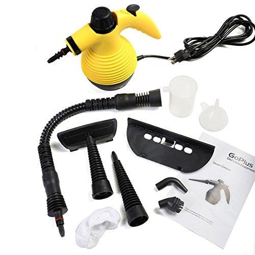Destinie Portable 1050 Watt Handheld Steam Cleaner Steamer W/Attachment Cleaning Supplies