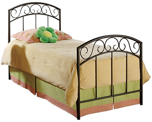Hillsdale Furniture 299BTW Wendell Bed Set, Twin, Copper ()