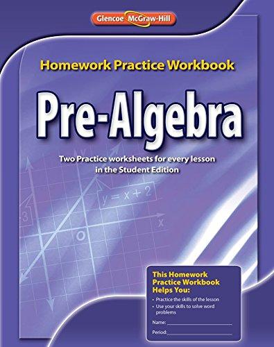Pre-algebra: Homework Practice Workbook (Merrill Pre-Algebra)