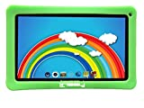 LINSAY NEW F10XHDKIDSGREEN with Green Kids Defender Case Quad Core 1 GB RAM DDR3 8 GB Android 4.4 Kit Kat
