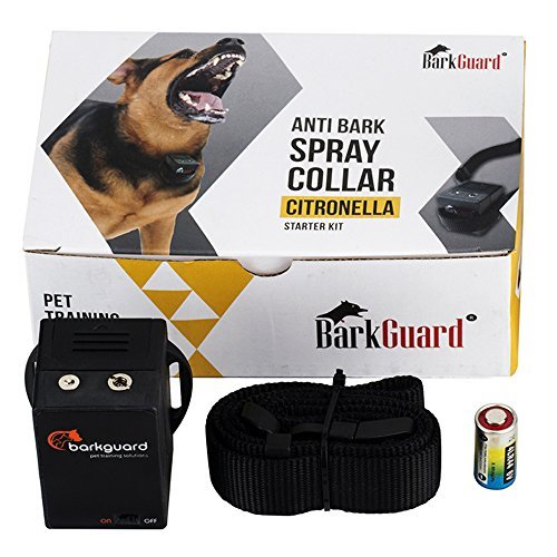 Barkguard BT-88C Citronella Automatic Anti Bark Spray Stop Barking Dog Training Collar - excludes Citronella Spray by Barkguard