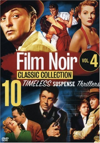 Film Noir Classic Collection, Vol. 4 (Act of Violence / Mystery Street / Crime Wave / Decoy / Illegal / The Big Steal / They Live By Night / Side Street / Where Danger Lives / Tension) by Warner Manufacturing