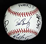 2003 Arizona Diamondbacks Team Signed MLB Baseball Curt Schilling & Robin Yount
