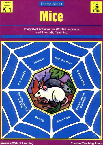Mice Theme Unit- Grades K-1, Intergrated Activities for Whole Language and Thematic Teaching