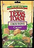New York, The Original Texas Toast, Caesar Croutons, 5oz Bag (Pack of 3)