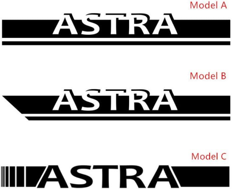 f/ür Opel Astra GTC Sport FSXTLLL Auto Seitenstreifen Seitenaufkleber Aufkleber