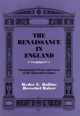 renaissance influence on 16th century english literature
