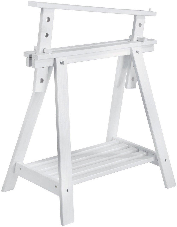 ASTIGARRAGA Kit Line - Caballete Pino Archi Tec de madera, regulable altura, con estante CAB005.99