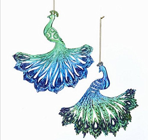 Kurt Adler PEACOCK ORNAMENT 2A