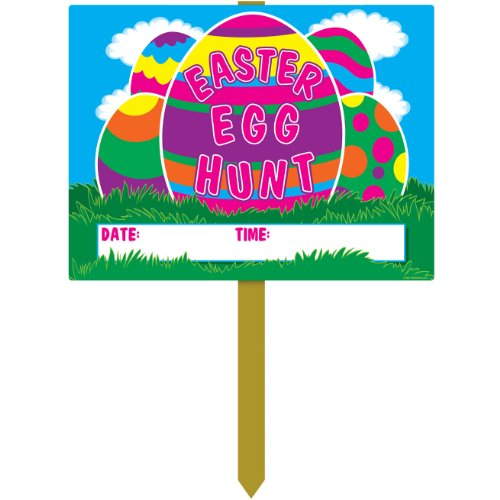 Plastic Easter Party Accessory count