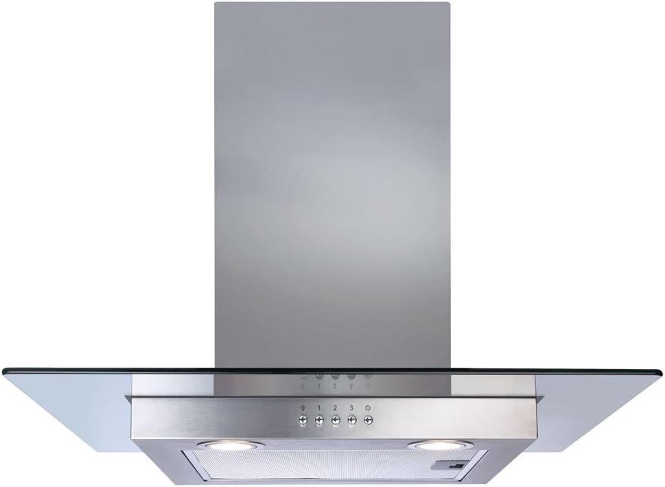 CDA ecn62ss recto cristal campana extractora de 60 cm: Amazon.es: Grandes electrodomésticos