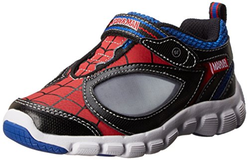 Stride Rite Spider-Man Spidey Reflex Light-Up Shoe (Infant/Toddler/Little Kid),Red/Black,6 M US Toddler -