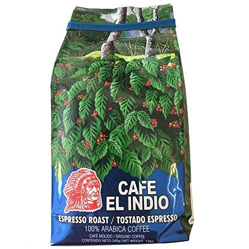 Cafe El Indio - Gourmet - Espresso Roast - 100% Arabica Coffee
