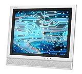 Sharp LC-15E1UW 15-Inch AQUOS LCD Flat-Panel TV, White
