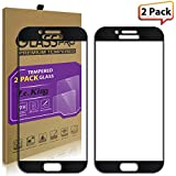 [2-Pack]Samsung Galaxy A5(2017)[Full Screen Coverage] Tempered Glass, ZeKing 0.33mm 2.5D Edge 9H Hardness [Anti Scratch][Anti-Fingerprint] Bubble Free, Lifetime Replacement Warranty