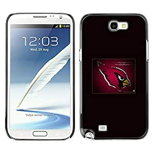 - Cardinal NFL For Samsung Note 2 N7100 Hard Snap On Cell Phone Case Cover @ Cat Family