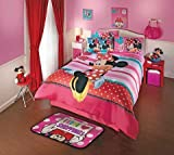 Minnie Amor 8 Piece Disney Comforter Set - Queen