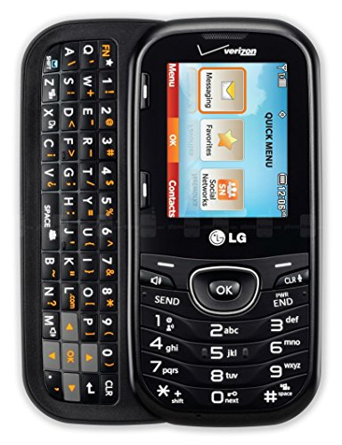 LG VN251 - COSMOS 2 - Verizon Wireless Slider Keyboard Bluetooth Cell Phone (Renewed) ()