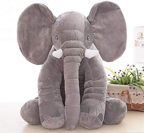 Ourine Elefanten beschwichtigen Puppe Spielzeug Infant weiche gef/üllte Elefanten beschwichtigen Puppe Spielzeug Baby beschwichtigen Spielzeug Elefanten Kissen pl/üschtiere grau 01