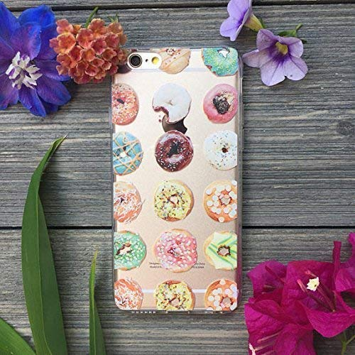 best website 7eba3 9700c Amazon.com: Decadent Donuts iPhone Case for 5, SE, 5s, 6, 7, 8, 6 ...
