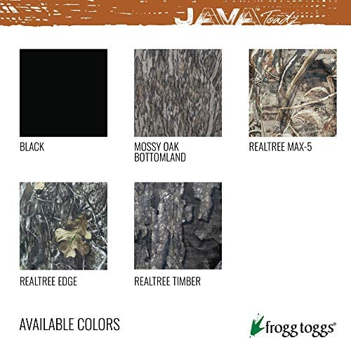 FROGG TOGGS Java Toadz Pantalon 2,5 JT83160-583X, Realtree Edge, 3X