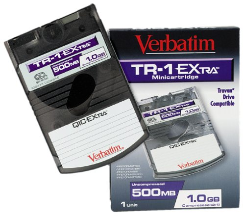 Data Cartridge VERBATIM Travan 1GB
