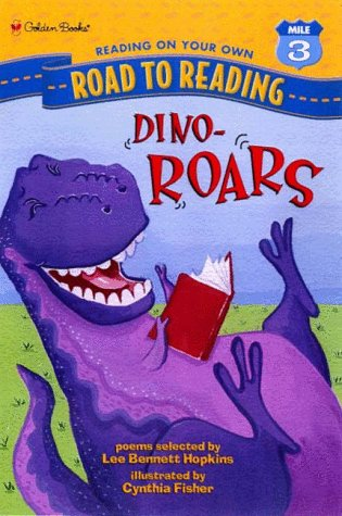 Dino-Roars (Road to Reading) by Golden Books