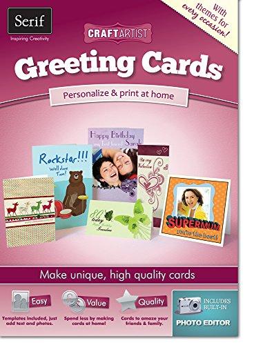 Serif CraftArtist Greetings Cards
