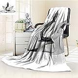AmaPark Digital Printing Blanket Lotus Flower Yoga Meditation Theme Silver Color On Lotus Petals Summer Quilt Comforter