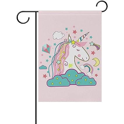 Amazon com : Staroind Unicorn Icon Double-Sided Printed