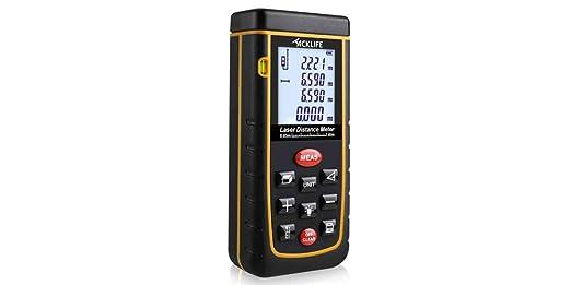 132 opinioni per Tacklife A-LDM01 Telemetro Distanziometro Laser Misuratore di Distanza con