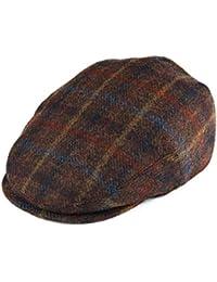 d46776a45e4 Men s 100% Wool Flat Cap Classic Irish Ivy Newsboy Hat