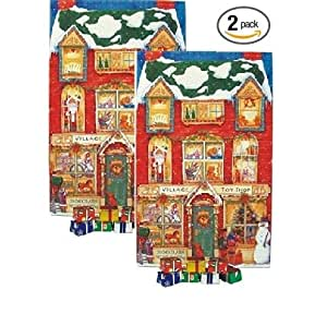 Chocolate Advent Calendar - 8oz 2 Pack