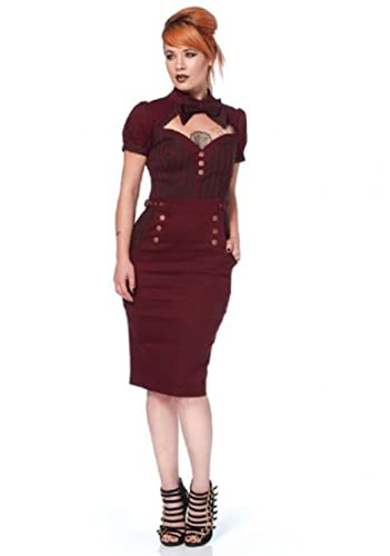 Jawbreaker Steampunk Pencil Dress