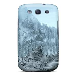 Leoldfcto744 Fashion Protective Skyrim Winter Cases Covers For Galaxy S3