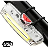 Apace Illuma ZT3000 USB Rechargeable Bike Headlight – POWERFUL Bicycle LED Front Light – Super Bright High-Powered Lumens for Optimal Cycling Safety Up to 12 Hours – Waterproof