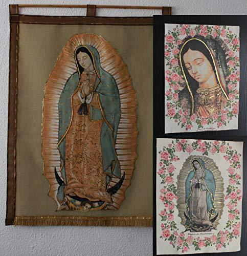Estandarte e imágenes de la virgen de Guadalupe paquete 3