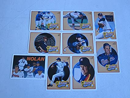 Amazoncom 1991 Upper Deck Baseball Heroes Nolan Ryan 9 Card Set