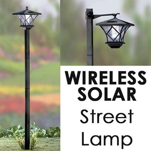 Modern Home Solar LED Street Lamp Post - - Amazon.com:,Lighting
