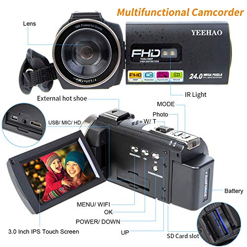 Buy cheap camcorder for youtube