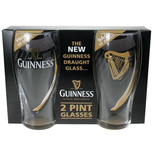 Guinness Embossed Gravity Pint Glass product image