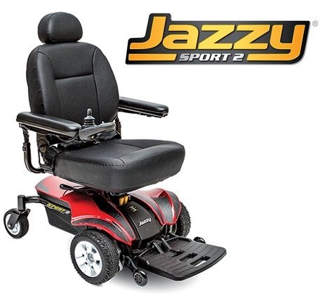 Pride Mobility JAZZYSPORT2 Electric Wheelchair